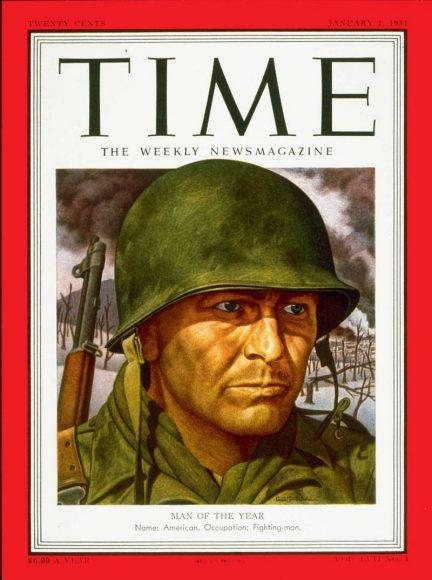 1950.gads - amerikāņu karavīrs