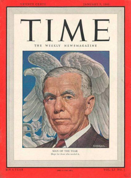 1947.gads -  Džordžs Māršals