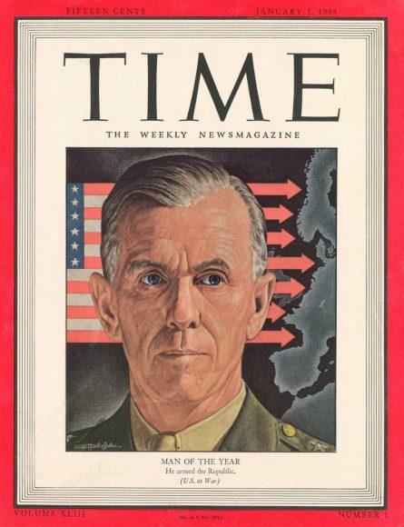 1943.gads - Džordžs Māršals