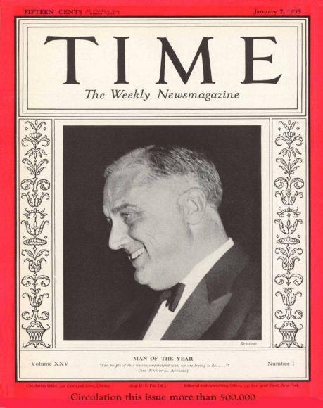 1934.gads -  Franklins Rūzvelts