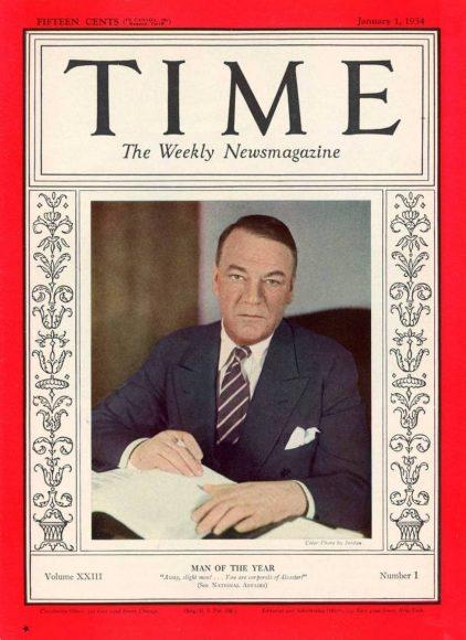 1933.gads -  Hjū Džonsons