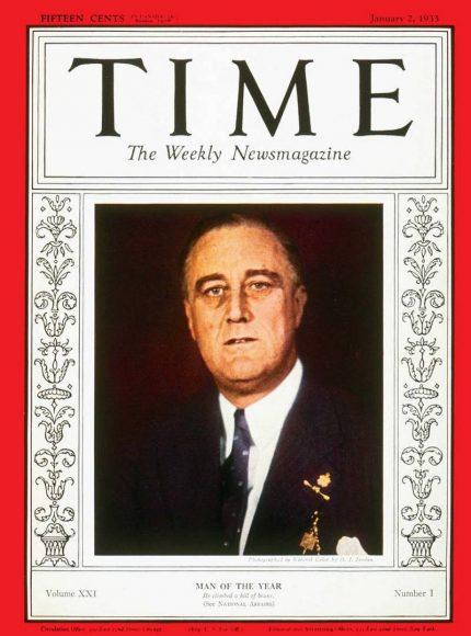 1932.gads - Franklins Rūzvelts