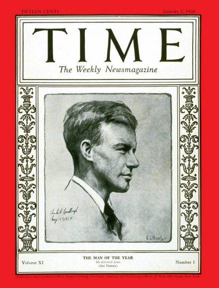 1927.gads - Čārlzs Lindbergs
