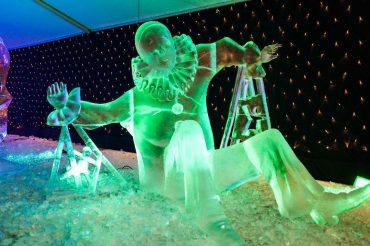 ledus skulptūras