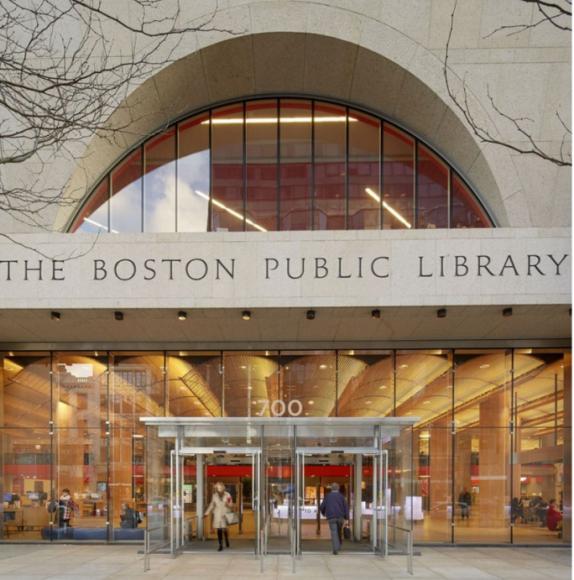 Bostonas Publiskajai bibliotēkai (Boston Public Library, Central Library)