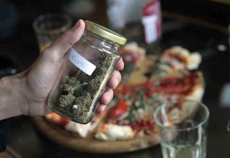 marihuāna izklaidei