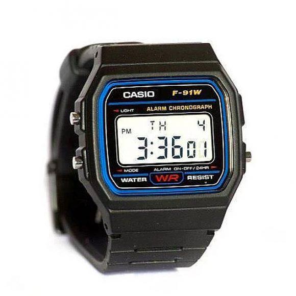 Un lūk arī modernais pulkstenis CASIO