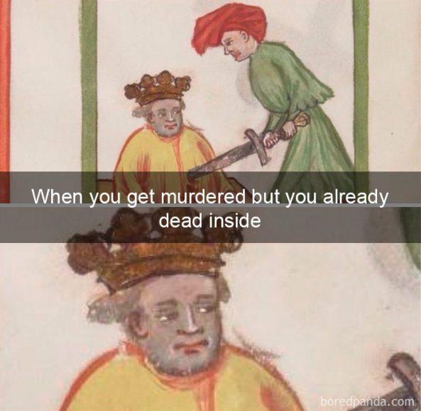 Kad tevi nogalina, bet tev jau tik un tā dvēsele ir mirusi
