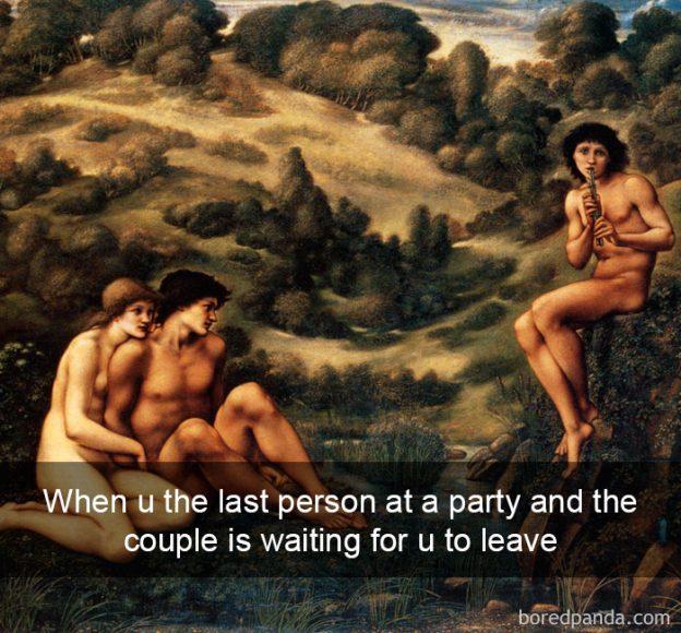 Kad viesībās esi palicis pēdējais un saimnieki gaida, kad beidzot dosies prom