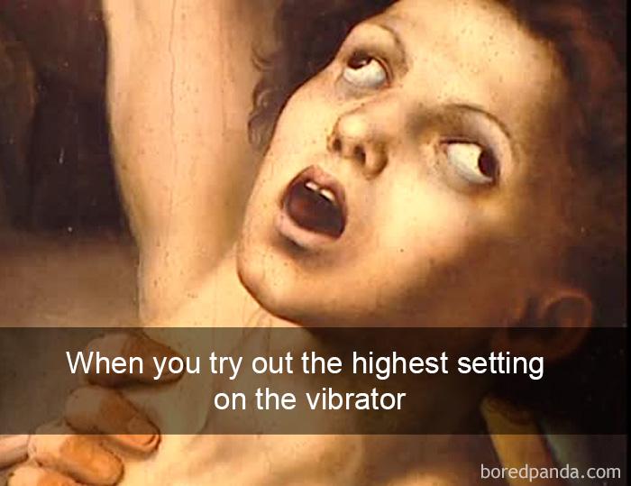 Kad ieslēdz vibratoru maksimālajā ātrumā