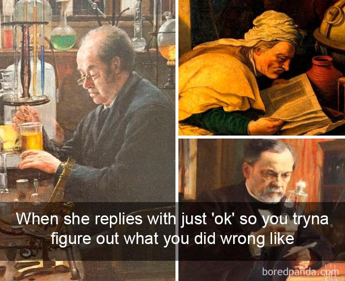 """Kad viņa uzraksta """"OK"""", un tu drudžaini mēģini saprast, ko esi izdarījis nepareizi"""