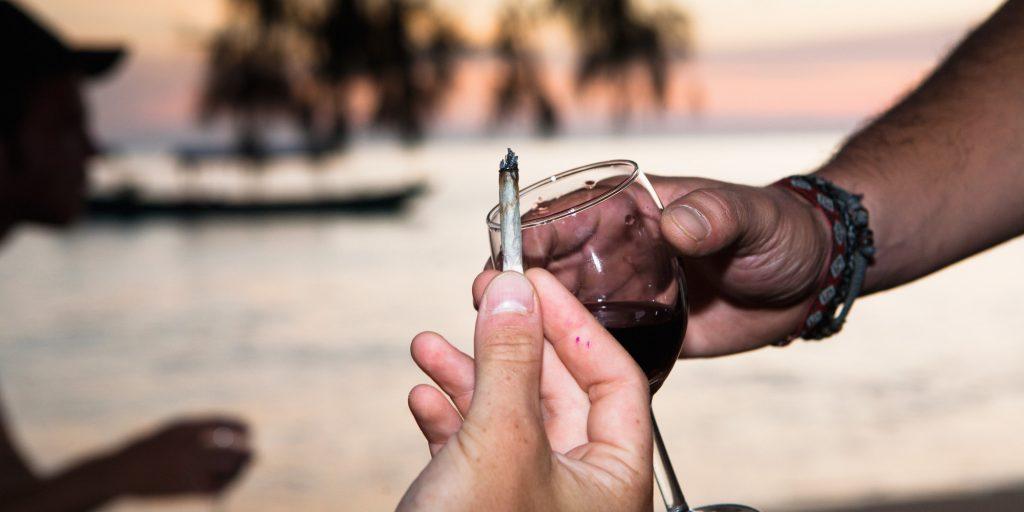 marihuāna vs alkohols
