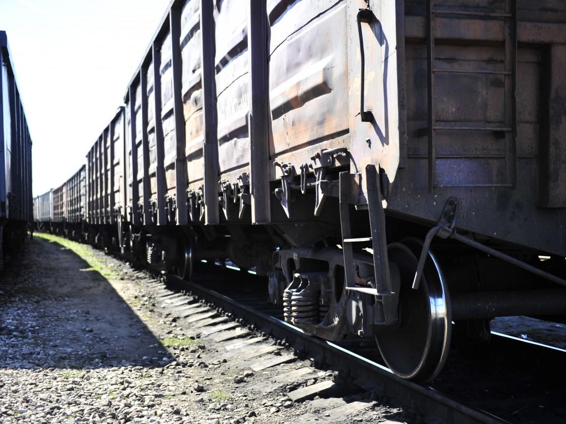 dzelzceļa kravas