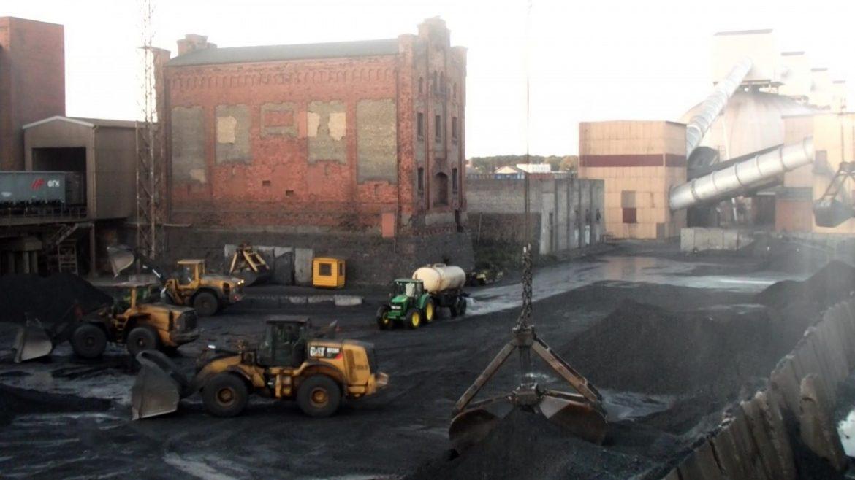 ogļu putekļi Ventspilī