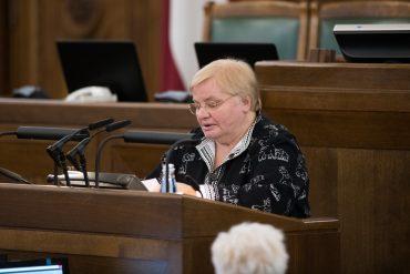 Janīna Kursīte-Pakule Saeima.lv foto