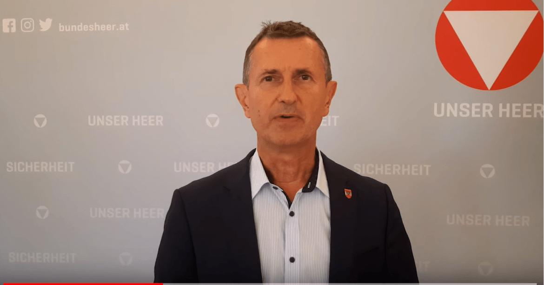 Austrijas aizsardzības ministrs
