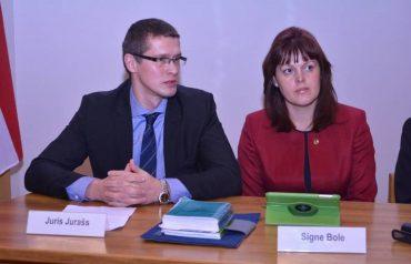 Juris Jurašs, Signe Bole
