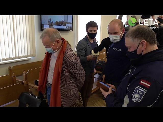 Lembergu arestē tiesas zālē