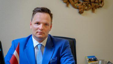 Raivis Kronbergs, foto Valsts kanceleja
